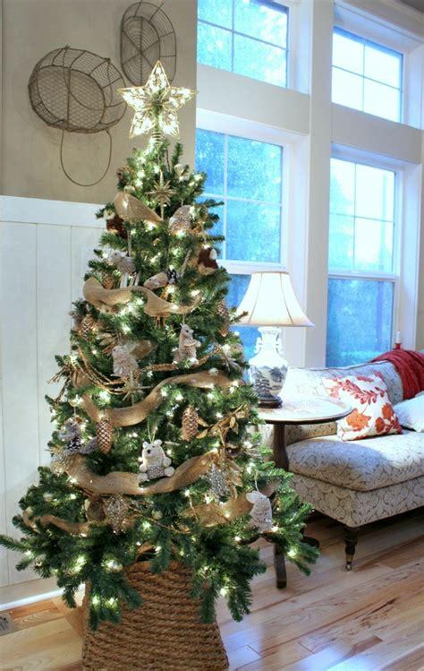 Weihnachtsbaum Schmücken  25 Verschiedene Stile Und Deko