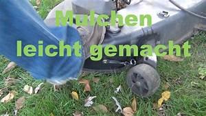 Rasentraktor Mit Mulchfunktion : mulch einsatz am rasentraktor anbauen youtube ~ A.2002-acura-tl-radio.info Haus und Dekorationen