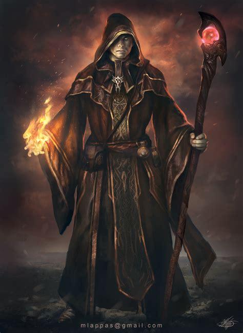 Dark Wizard By Mlappasdeviantartcom On @deviantart