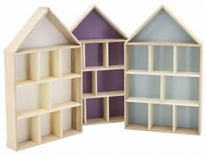 Etagere Murale Maison : etag re murale maison 9 cases vert ~ Teatrodelosmanantiales.com Idées de Décoration