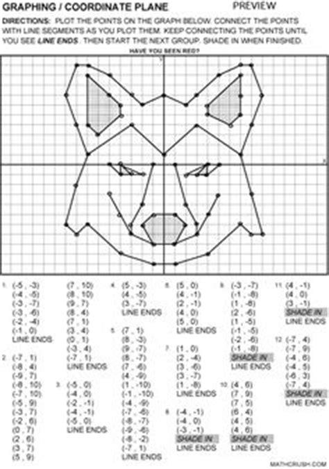images  coordinates grid worksheet  grade