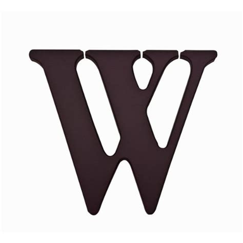 Large wooden letters wall hanging art wedding party home diy decor supply. Kids Line W Black Wooden Personalizable Letter Wall Decor 7.5 Inch BHFO 3105 789887302062   eBay