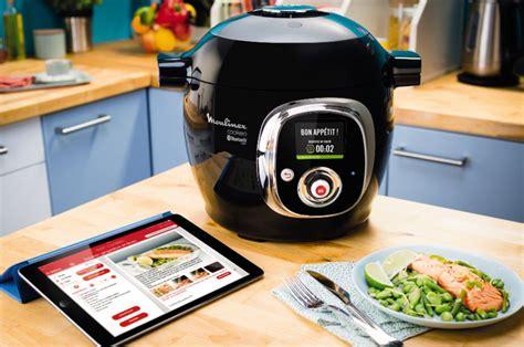 cuisine cocotte minute friteuse connectée cuiseur intelligent seb compte relier 50 des outils de cuisine à