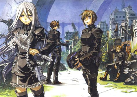 Chrome Anime Wallpaper - chrome shelled regios wallpaper and background image