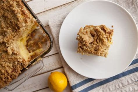 Meyer lemon olive oil coffee cake. Meyer Lemon Coffee Cake Recipe ~ Macheesmo