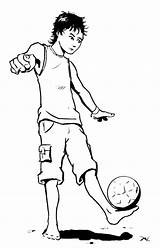 Coloring Juggling Pages Ball Soccer Getcolorings Balls sketch template