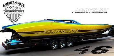 Adrenaline Boats by Adrenaline Powerboats Zxr 46 Carbon Series Yachtopolis