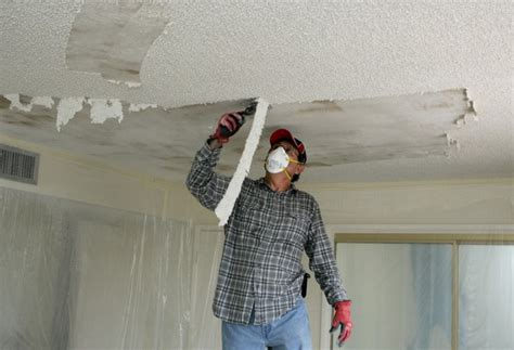removing  textured ceiling hometalk