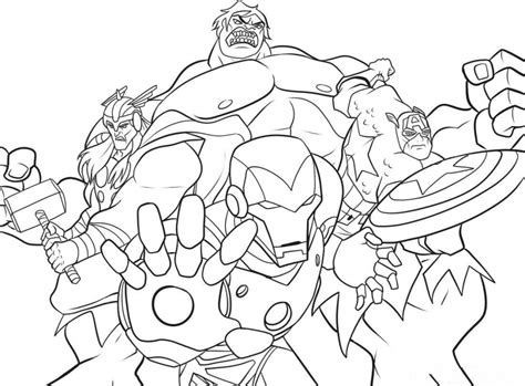 get this marvel avengers coloring pages 8dbem
