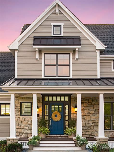 the better homes and gardens innovation home blue doors