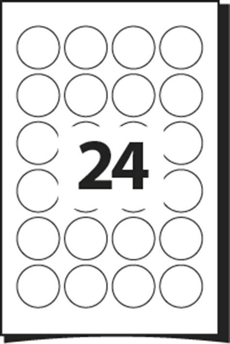 printing template  labels  mm diameter
