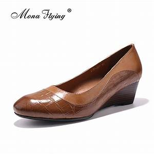 【ᗑ】Women's Pumps Shoes 【ᗑ】 2017 2017 Brand Genuine Leather ...