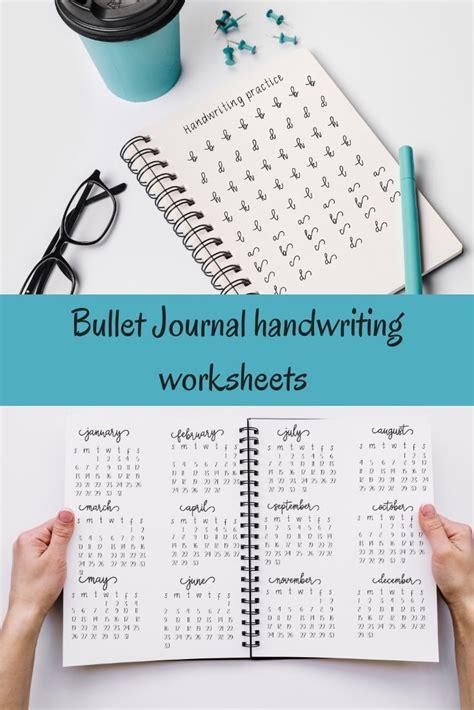 fancy  stylish bullet journal handwriting practice