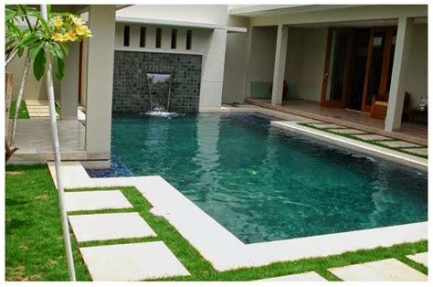 desain rumah sederhana  kolam renang minimalis idaman