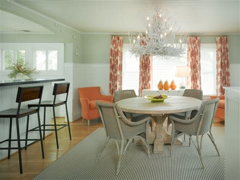 Chic Coral Table Cloths mode San Francisco Beach Style