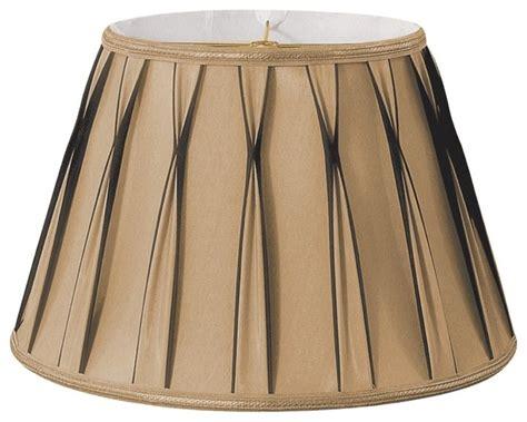 drum coffee table bowtie pleated drum designer lshade antique gold
