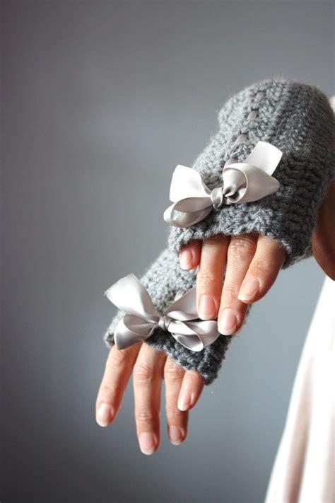 Crochet Arm Warmers Fingerless Gloves