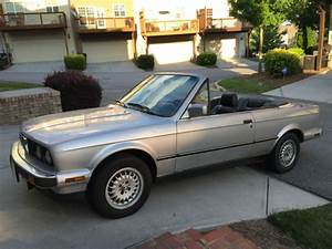 1990 Bmw 325i E30 Convertible Manual Transmission For Sale