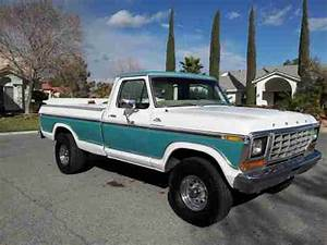 Purchase Used 1978 Ford F150 Factory Original  351 V8 Half