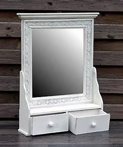 Spiegelschrank Shabby Chic : wundersch ner wandschrank h ngeschrank k chenschrank spiegelschrank badspiegel spiegel wandregal ~ Markanthonyermac.com Haus und Dekorationen
