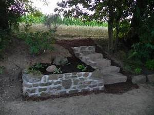 Steinmauern Im Garten Selber Bauen : eine sandsteinmauer hilft gegen steinchen im rasenm her garten sandsteinmauer steinmauer ~ Avissmed.com Haus und Dekorationen