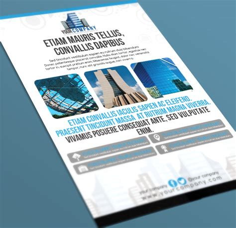architecture poster template