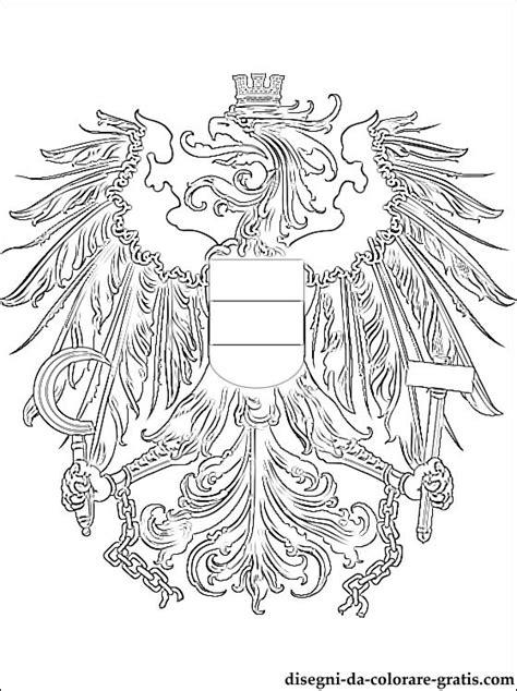 memory animali da stare e colorare stemma dell austria da colorare disegni da colorare gratis