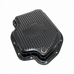 Gm Chevy Turbo 400 Black Automatic Transmission Pan