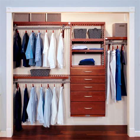 Closet Organizer Kit  16in Deep Deluxe Wood Closet