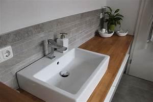 Badezimmer Fliesen Ideen Mosaik : badezimmer waschtisch halbhoch mit mosaik farblich ~ Watch28wear.com Haus und Dekorationen