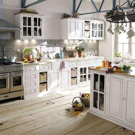 mobili country chic arredare la cucina in stile country chic foto design mag