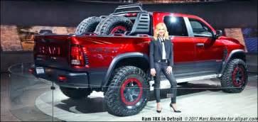 2017 Ram Rebel Trx Concept Pickup Truck