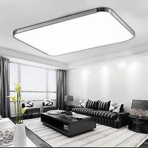Led Deckenleuchte Wohnzimmer : 96w led panel led deckenleuchte wohnzimmer beleuchtung led deckenlampe mit fb de beleuchtung ~ Yasmunasinghe.com Haus und Dekorationen