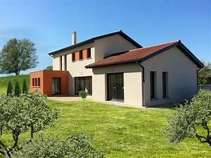 image gallery maison toiture With maison toit plat en l 2 maison neuve toit plat