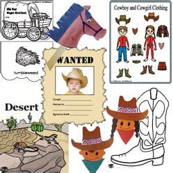 the west activities crafts and printables kidssoup 161   wildwest large
