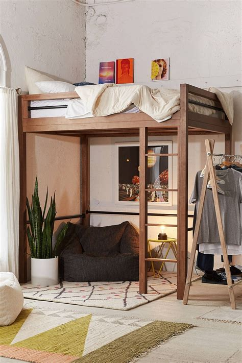 Bedroom Source Loft Beds by Slide View 1 Fulton Loft Bed Furnishing Small Spaces