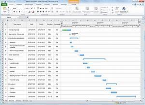 Diagramme De Gantt Excel