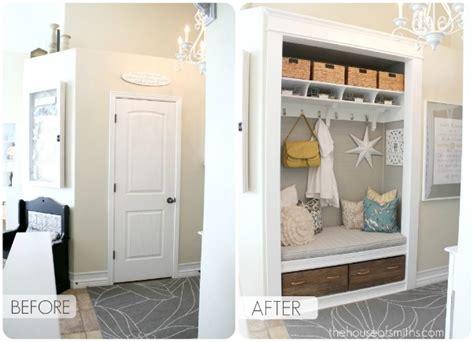Entryway Closet Transformation