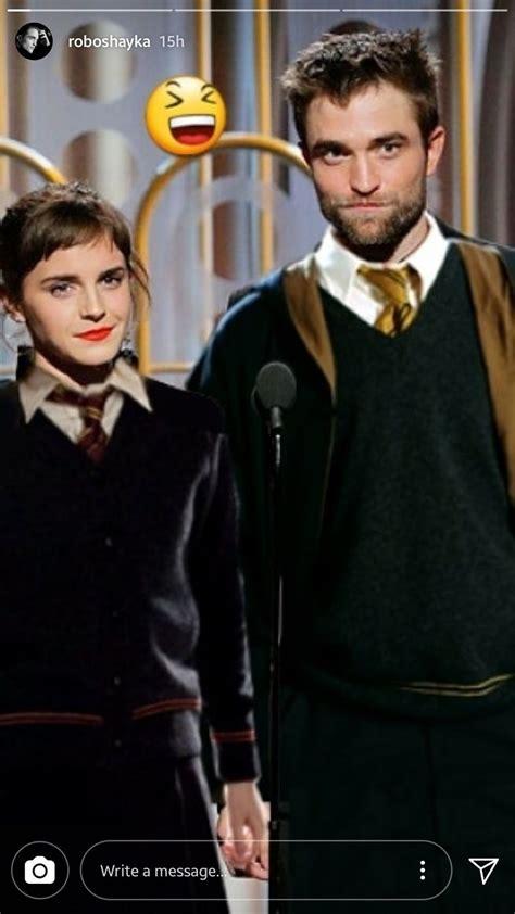 Robert Pattinson 2018 Golden Globe Harry Potter edit ...