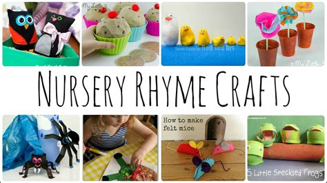 nursery rhyme crafts activities