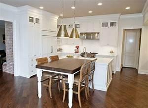 80 idees pour bien choisir la table a manger design for Deco cuisine avec armoire salle À manger design