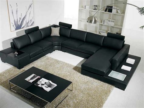 black leather sectional with ottoman t35 black leather sectional sofa leather sectionals