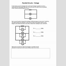 Current & Voltage In Series & Parallel Circuits By Tafkam  Teaching Resources Tes
