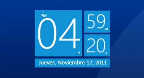 horloge bureau windows 8 horloger télécharger