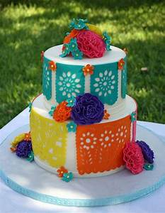 You have to see Fiesta themed birthday cake by BrendyVaughn!