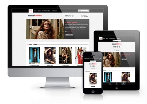 Carve Template Joomla Responsive by Os Casualclothes Joomla Template Ordasoft