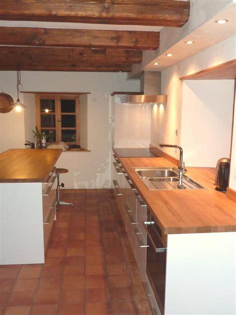 cuisine stratifi 233 brillant plan de travail bois massif