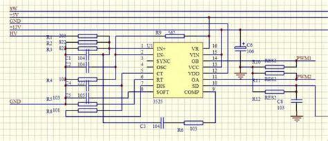 12v 300w uni polar isolation sine wave inverter design