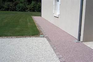 terrasse gravier alveolaire zimerfreicom idees de With dalle pour allee de jardin 9 plaques de stabilisation de graviers nidagravel
