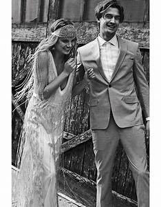 Robes De Mariée Bohème Chic : robe mariage r tro boh me 20 robes de mari e r tro pour avoir un look vintage le jour j elle ~ Nature-et-papiers.com Idées de Décoration